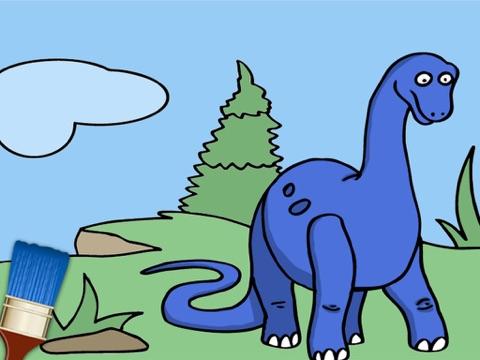 Color dinosaurs - dinosaur coloring games | App Price Drops