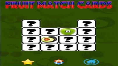 Ninu's Fruit Match Card Game for Kids screenshot three