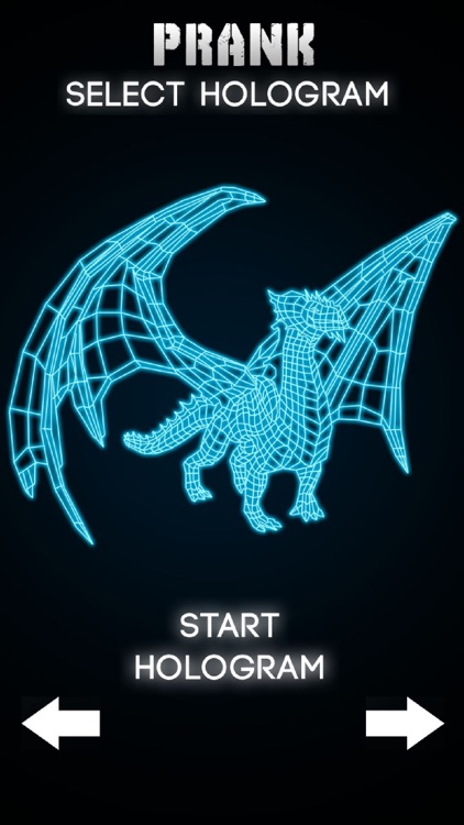 Hologram Dragon 3D Simulator