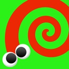 Touch and Born! Moving paint for iPad - Free educational application for kids icon