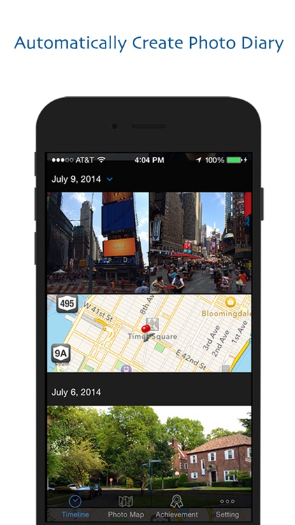 Photo Footprint - Automatic Display Your Picture on Map screenshot-0