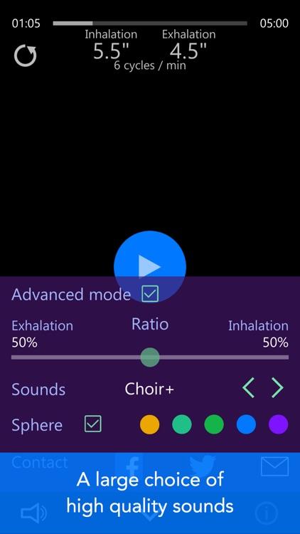 Kardia - Anti-Stress Breath Pacer screenshot-3