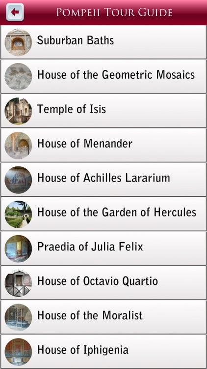 Pompeii Tour Guide screenshot-3