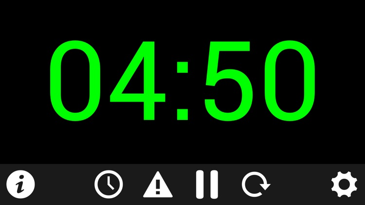 Talk Timer Clock screenshot-1