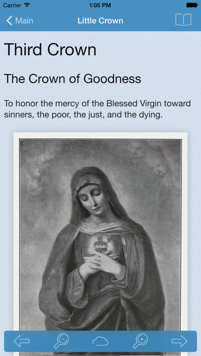 Catholic Little Crown of the Blessed Virgin Mary screenshot four