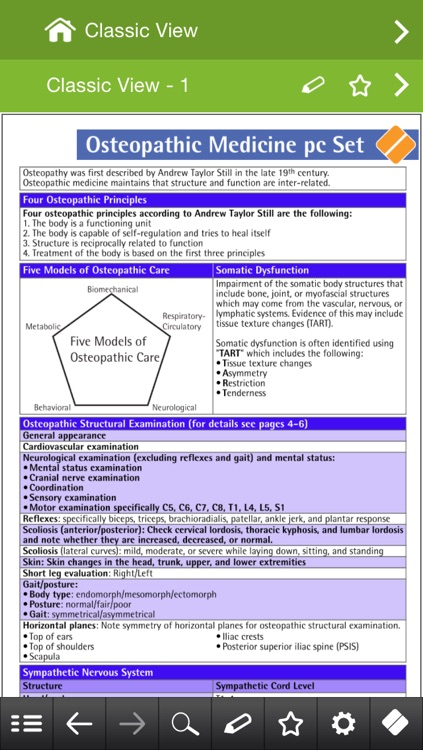 Osteopathic Medicine pocketcards screenshot-3