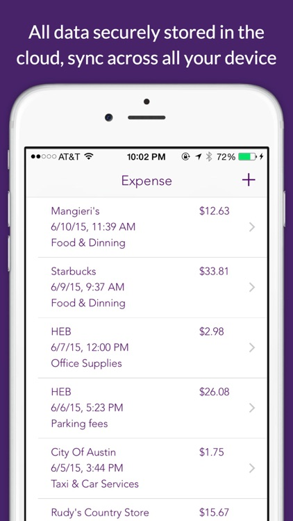 Deductible - log mileage & expense for tax & reimbursement screenshot-4