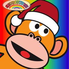 Activities of Five Little Monkeys Christmas HD