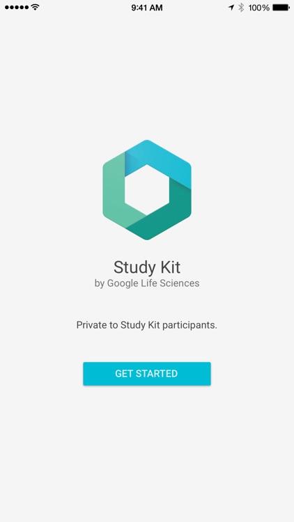 Google Life Sciences Study Kit