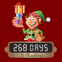 Sleeps to Christmas - A Christmas Elves Days to Christmas Countdown SnowGlobe App