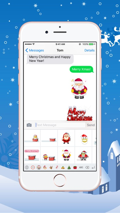 Christmas Gif Keyboard Pro Fully Animated Emoji For Christmas