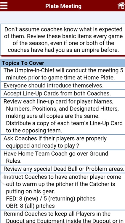 Baseball Umpire Pocket Reference screenshot-2