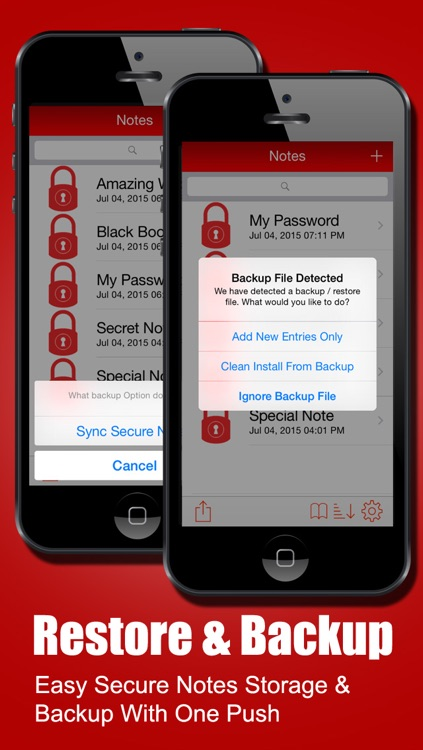 Secure Notes for iPhone, iPad, iPod & Watch screenshot-3