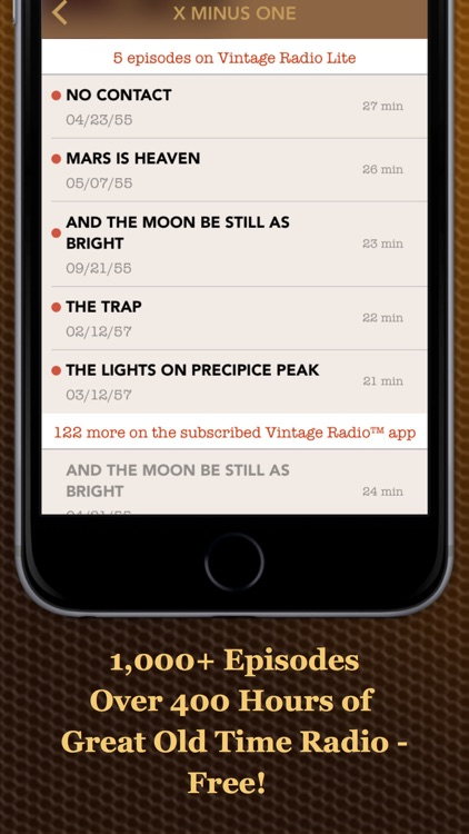 Vintage Radio Lite screenshot-4