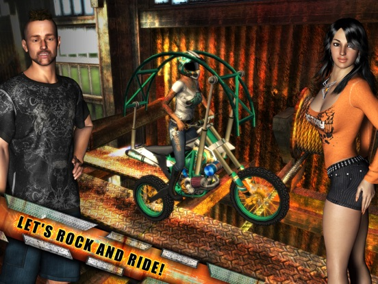 Rock(s) Rider на iPad