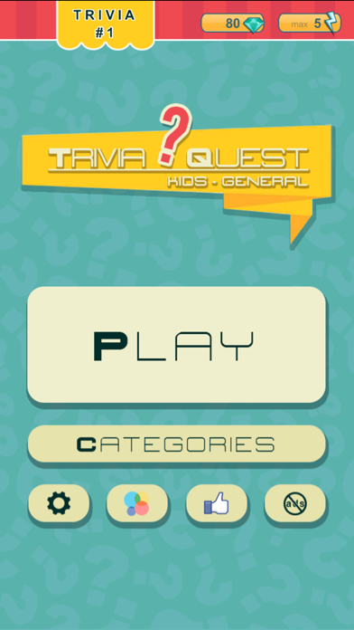 Trivia Quest™ for Kids - general trivia questions for children of all ages på PC