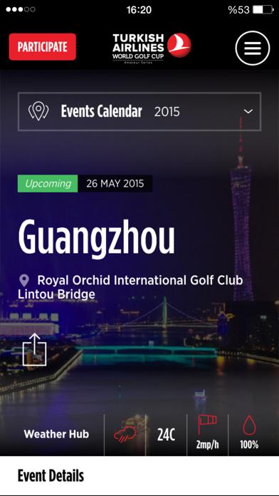 点击获取Turkish Airlines World Golf Cup