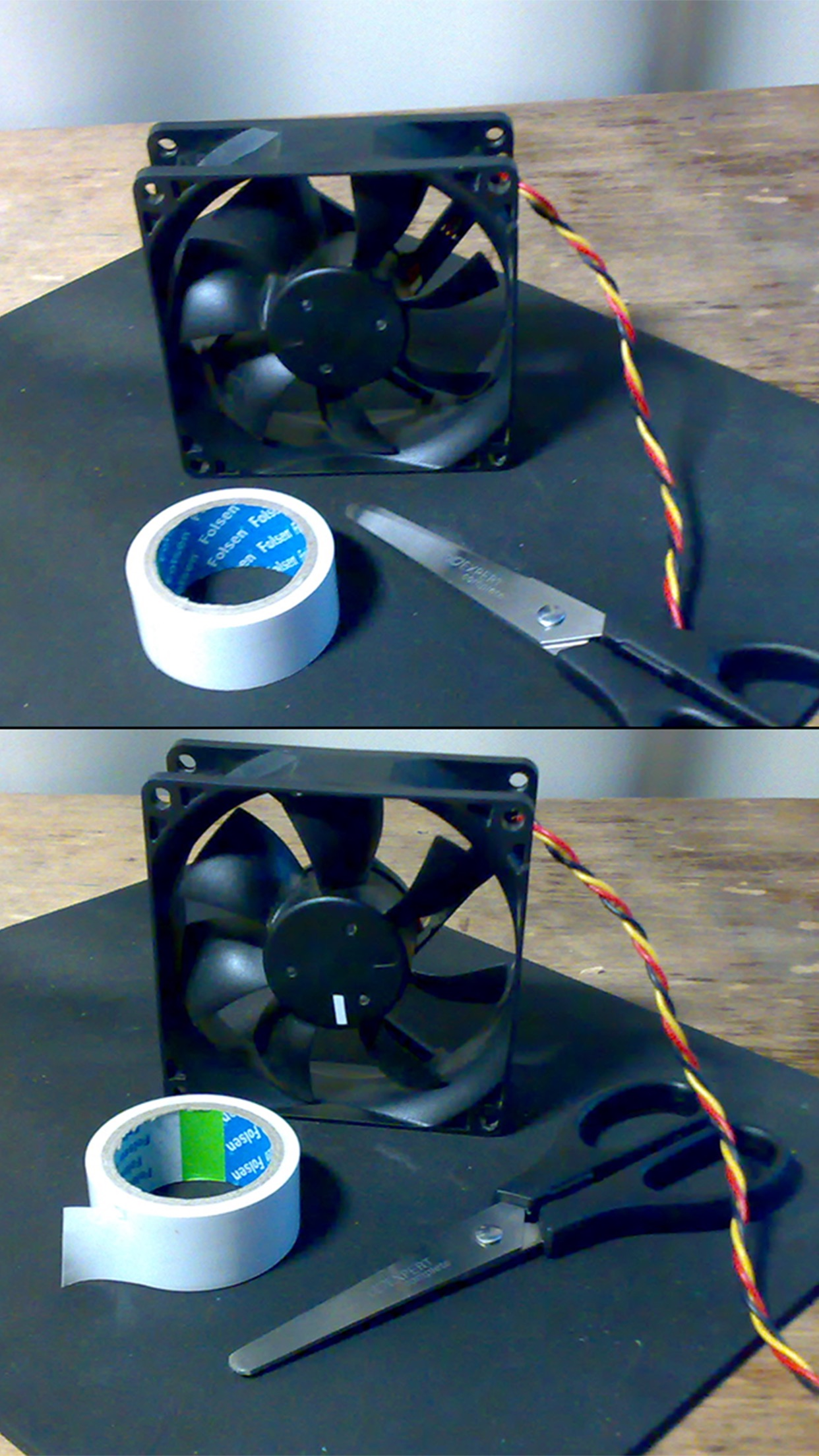 Strobe tachometer (RPM meter) Screenshot