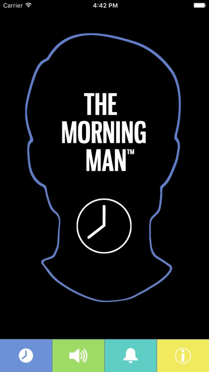 THE MORNING MAN ALARM CLOCK