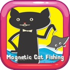 Magnetic Cat Fishing Games for Kids: Catch Fish That You Can! icon