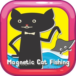 Magnetic Cat Fishing Games for Kids: Catch Fish That You Can!
