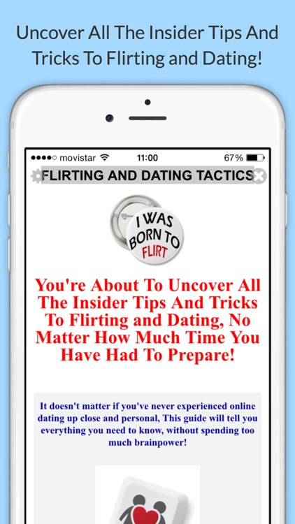 Flirting and Dating Tactics Free