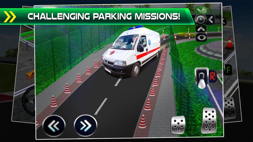 Police Emergency Car Parking Simulator - 3D Bus Driving Test & Truck Park Racing Games hack tool