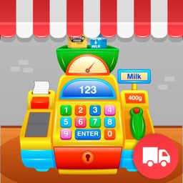 My First Cash Register Free - Store Shopping Pretend Play for Toddlers and Kids