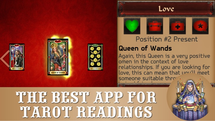Tarot reading PRO - cards fortune-tellings, divinations and predictions screenshot-0