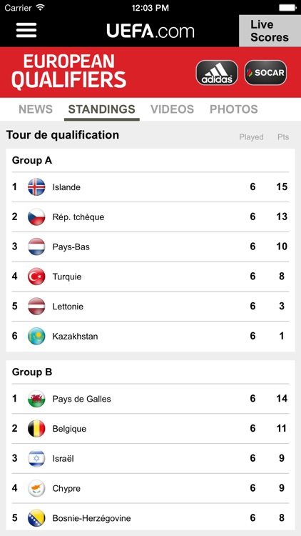 UEFA.com mobile screenshot-3