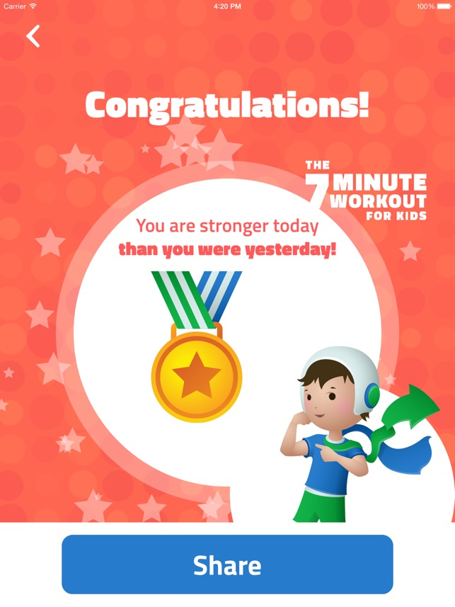 7-Minute Workout for Kids: Make Fitness Fun for Stronger, Healthier Kids  Through Interval Training on the App Store