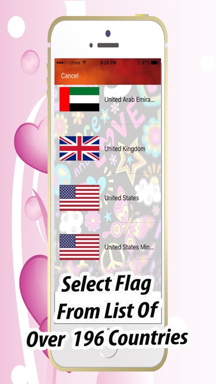 Show Some Love - Flag A Pic
