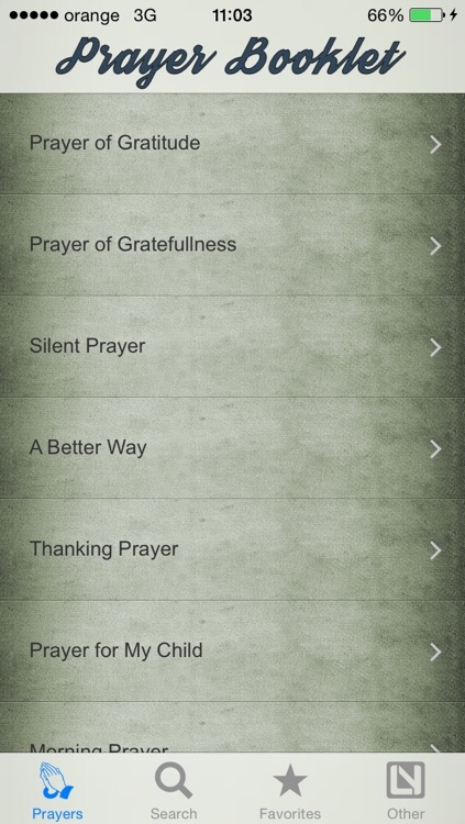Prayer Booklet screenshot-3