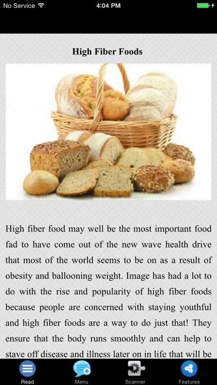 High Fiber Foods - Fruits & Veggies