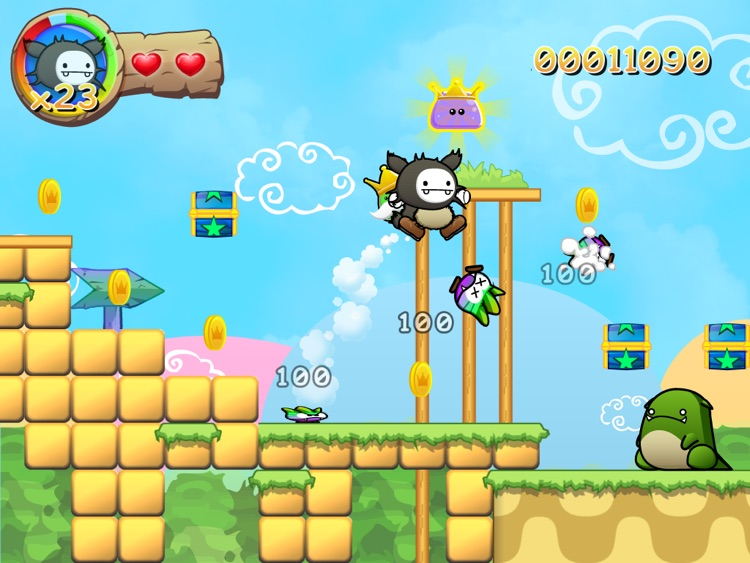 Wacoon Jump! HD screenshot-1