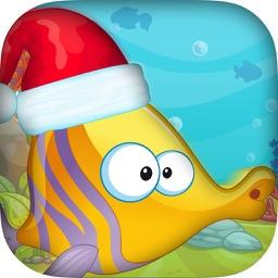Christmas Fish Frenzy Mania Pro - Splashy Holiday Challenge