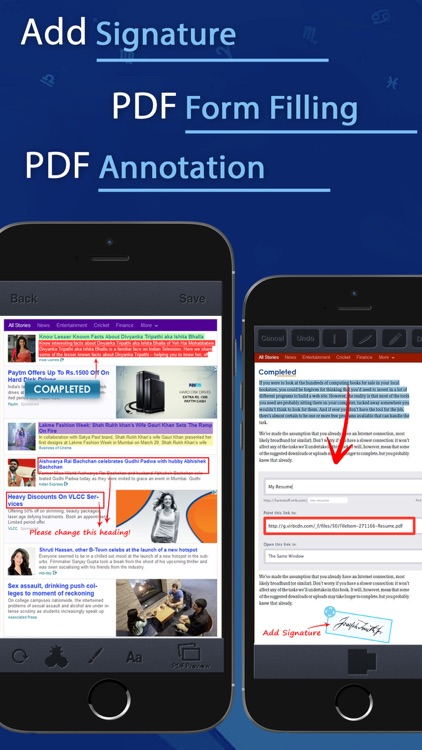 PDF Converter and Printer Pro : PDF Scanner , scan document, receipt,pdf annotation