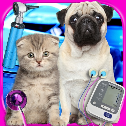 My Real Newborn Pet - Mommy's Virtual Baby Kitten & Puppy Care