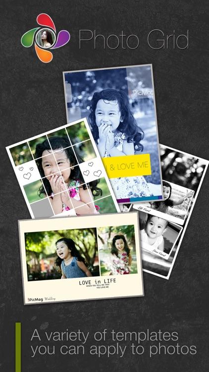 Photo Grid - Photo Collage Editor  HD - Photo Show