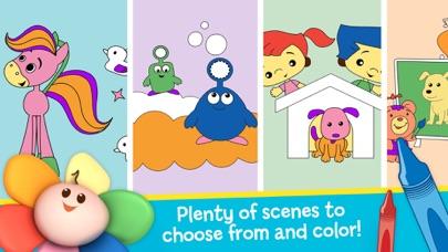 Draw Color & Play - Best Coloring Book App for Preschool Kids screenshot three