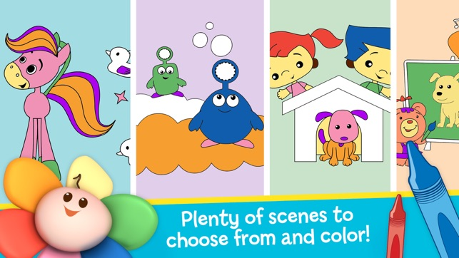 Draw Color & Play - Best Coloring Book App for Preschool Kids on the ...