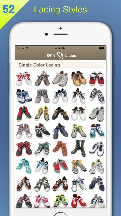 Ian's Laces - How to tie and lace shoes screenshot-0
