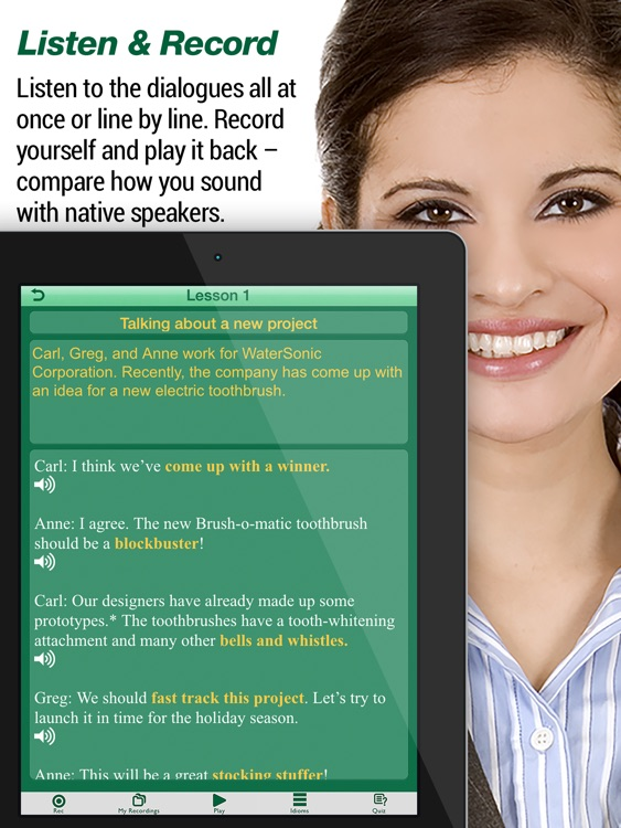 Speak Business English - iPad