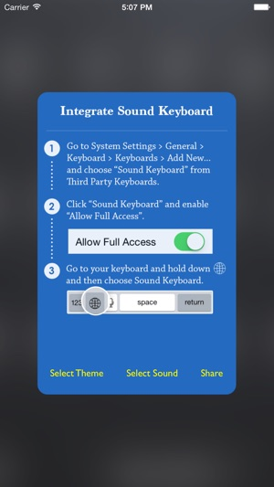 Keyboard Sound - Customize Typing, Clicks Tone, Color themes on the