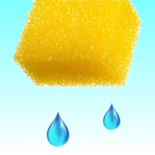 Catch The Waterdrop - Squeeze Water From A Sponge Free icon