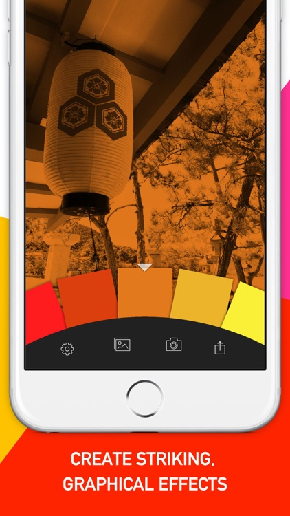 Geló | Add color with gels, shapes and gradients