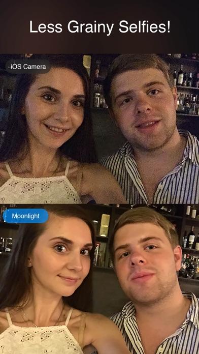 Moonlight - night time low light selfie camera for dark