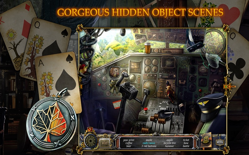 Solitaire Mystery: Four Seasons screenshot 3