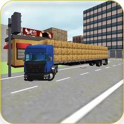 Hay Truck 3D: City