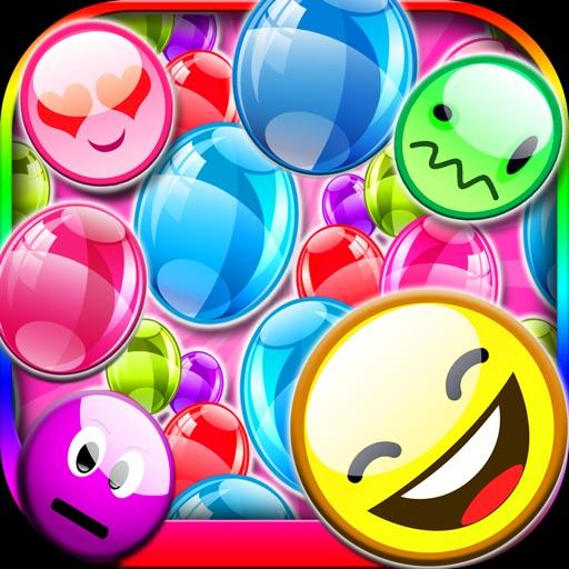 A Emoji Bubble Pop - Emoticon Explosion Burst Popper Fun by